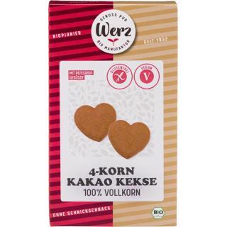 4-Korn Kakao Kekse glutenfrei